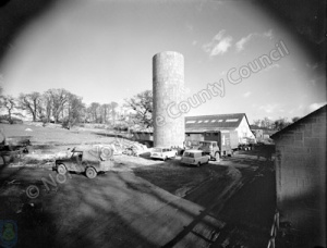 Silo's Under Construction, Harewood Estate